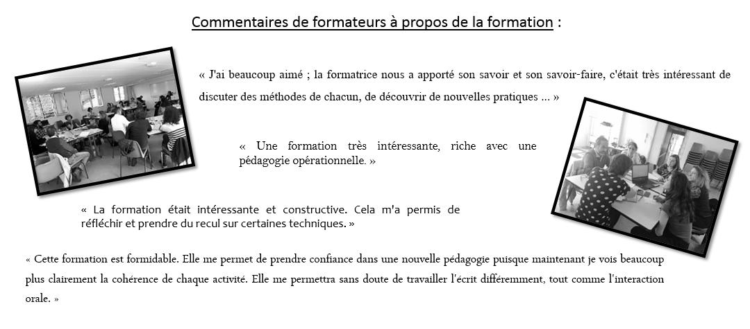 Professionnalisation des formateurs de français langue étrangère